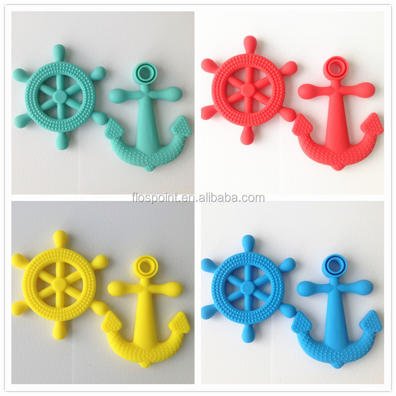 Baby Gift Item : Baby sets gift items silicone pendant teething wholesale