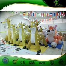 Custom Inflatable Cartoon / Inflatable Reindeer Animals / Little Inflatable Cartoon Character
