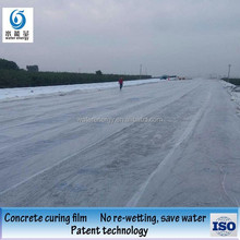 Concrete moisturizing curing stable pp nonwoven geotextile