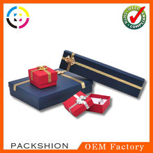 Different color printing velvet ring box with customer logo