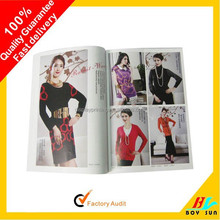 Fast delivery promotional printing brochures
