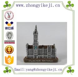 factory custom-made handmade carved fashion polyresin custom 3d fridge magnets