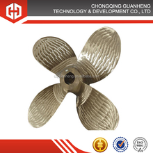 stainless steel 4 blade outboard motor marine propeller Pitch Propeller (CPP)
