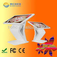 42 47 55 Inch interactive desk display White Touch Screen Kiosk LED
