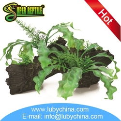 High quality resin ornaments for reptile cage supplies