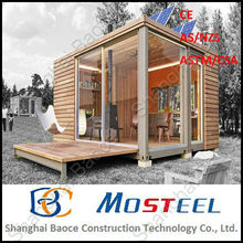 Nice Design and Comfortable Flat Pack Wooden House