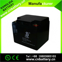 lead acid storage battery, 12v40ah rechargeable sealed deep cycle batteries