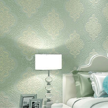 Levinger natural damask flower design wallpaper eco-friendly wallpaper