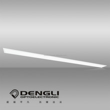 1500x100mm 60W spring mounted hanging flat slim led panel light for office