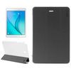 Transparent PC Back and PU Leather Front Tablet Case for Samsung Galaxy Tab A 9.7 Case