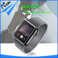 Factory custom waterproof mobile phone tempered glass screen guard for apple watch screen protector