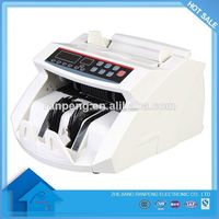 12 months Hot Sell Double-note detection bill counter mini cash detector