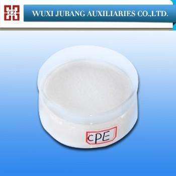 Grande affinité PVC impact modificateur polyéthylène chloré cpe135a en cet été