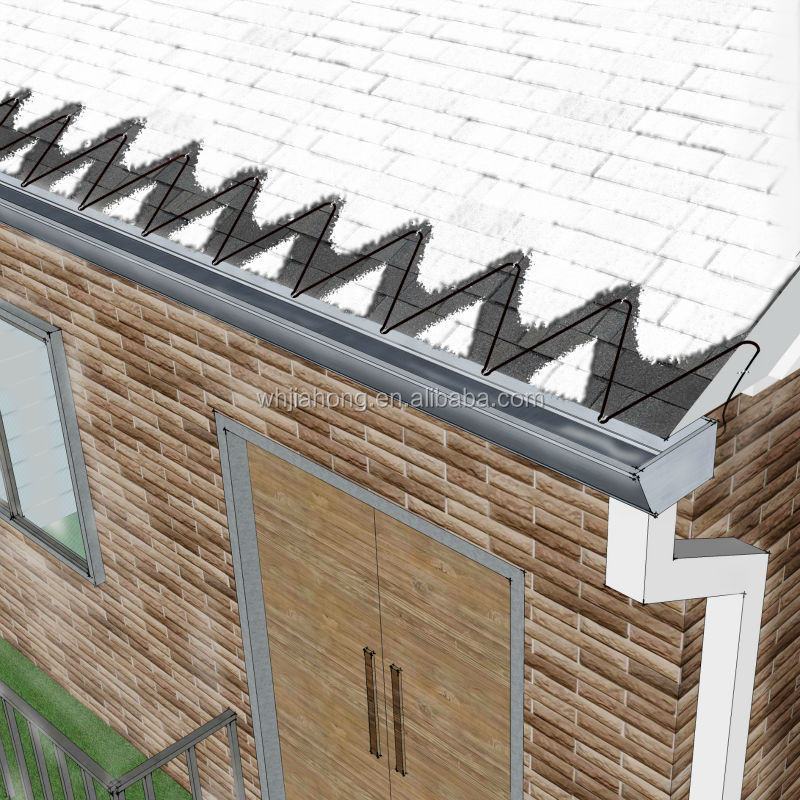 Gutter Heaters De Icing Cables : Pipe heating rroof and gutter de icing in commercial