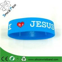 silicone bracelets for arthritis/ customized corporate wristband / 25MM wide bracelet