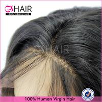 Original unprocessed long black straight hair wig high quality virgin hair wigs