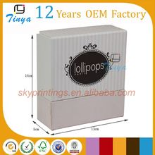 wholesale gift leather belt packaging paper box
