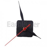 Wall Clock Movement Mechanism Black Hour Minute Red Second Hand DIY Tools Parts