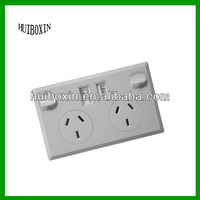 UK style wall socket with usb charger for home, office and hotel decoration