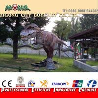 Hand-made gaint resin dinosaur amusement park sculptures