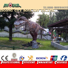 Hand-made gaint resin dinosaur amusement park sculptures
