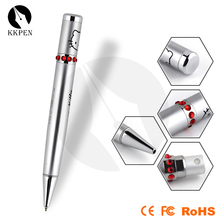 Shibell red diamond ball-point pen, rotary rolling printing ball-point pen, promotional cheap beautiful pen