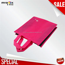 Foldable promotion recycled custom shopping non woven bag wholesales