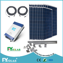 high efficiency and low price of 1KW,2KW,3KW,4KW 5KW,7KW,10K,20KW on grid solar system