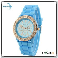 rhinestone face geneva watch with geneva watch and crystal geneva watch from china factory with cheap price