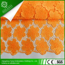 2015 multicolor new design high quality african lace fabrics materials with stones for party