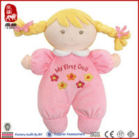 Baby soft doll cute plush doll supplier asian hot baby doll