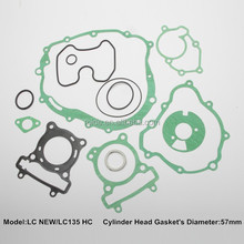 LC135 HC motorcycle spare parts cylinder head gasket set