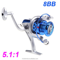 Pesca 8BB Ball Bearings ST4000 5.1:1 New Fishing Reel Left/Right Collapsible Handlle Metal Spinning Reel