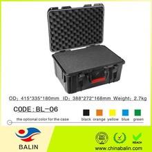 BL-06 hard plastic waterproof equipment case