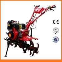 Agricultural New Manual Farm Tractor Rototiller For Sale