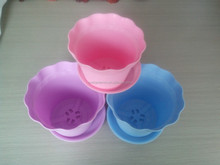 High quality flower pot, colorful nusery pot, plastic garden planter