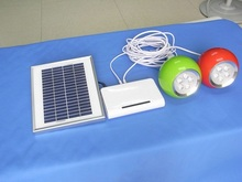 2015 hot sales portable solar power with led light Solar power with USB port