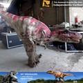 Mi dino alta calidad animatronic raptor dinosaurio del traje