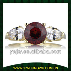 Inspired by Jessica Simpson's Ruby Engagement Ring(JW-G12030)