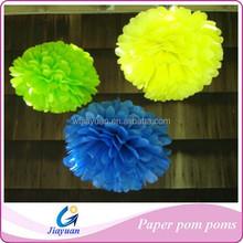 Tissue Paper Poms Flower Balls Wedding Halloween Christmas