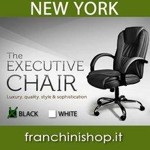 Chaise de bureau exécutif de NEW YORK