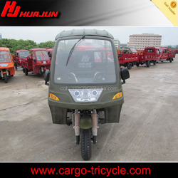 motorcycle with cabin/adult 3 wheel bicycle/cargo three wheel motorcycle with cabin