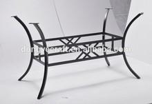 esterno in metallo gambe per da tavolo in marmo