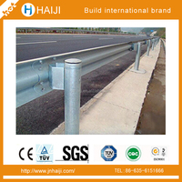 AASHTO M180 Steel Corrugated Expressway Flex Beam Guard rail with bolts and nuts made in China