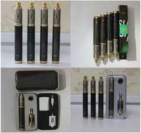 New design 2014 Luxyoun brand 1600mah Variable voltage Battery carbon spinner III vv ego-t 1100mah battery with ce5 starter kit