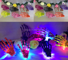 2015 factory price Christmas party Halloween Props,LED ghost hands glow hairpin