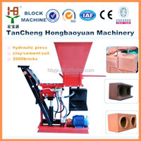 eco brava building material machinery machine for clay brick burning