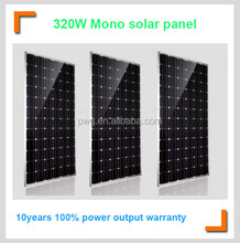 IP65 Rated Junction box Solar Panel 320W Factory Directly Price