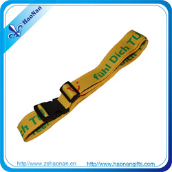 Online shopping personalized nylon or cotton strap for bag with own logo