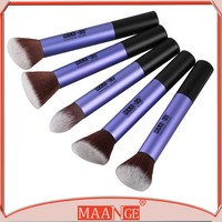 Premium 5 Piece Synthetic Kabuki Makeup Brush Set Foundation Eye shadow Blending